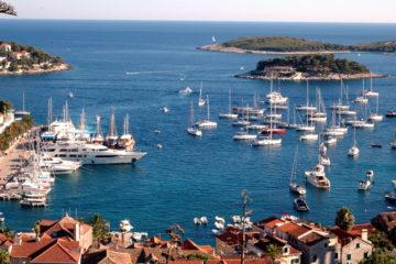 Island Hvar Croatia, Pakleni Otoci