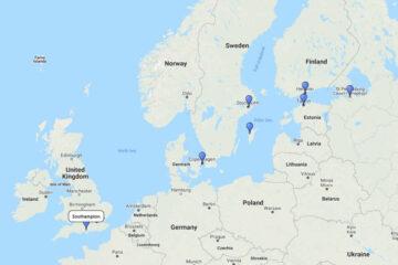 cruise to Copenhagen, Stockholm, Tallinn, St. Petersburg, Helsinki & Visby