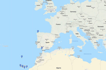 cruise to Fuerteventura, Gran Canaria, Tenerife, La Palma, Madeira & La Coruna