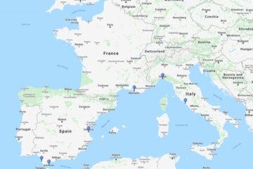 14-day cruise to Cadiz, Valencia, Civitavecchia, Genoa, Marseille & Gibraltar