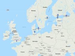 cruise to Kiel, Helsinki, St. Petersburg, Tallinn, Stockholm & Copenhagen