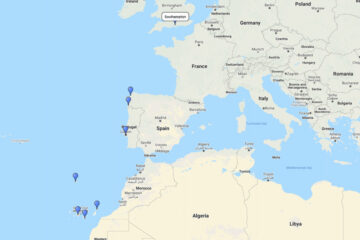 16-day cruise to La Coruna, Lisbon, Lanzarote, Tenerife, La Palma, Madeira & Vigo