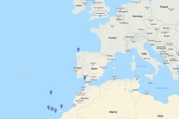 16-day cruise to La Coruna, Madeira, La Palma, Tenerife, Gran Canaria, Lanzarote & Cadiz
