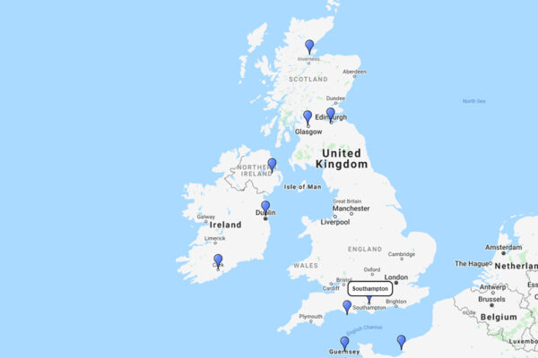 Princess Cruises 12-day, British Isles Cruise from Southampton